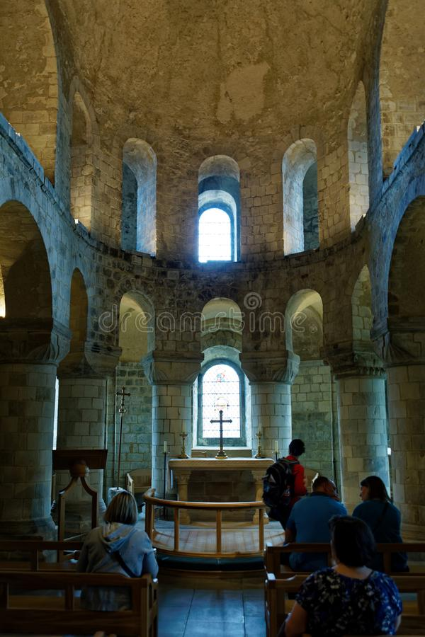St. John`s Chapel in the White Tower royalty free stock photos