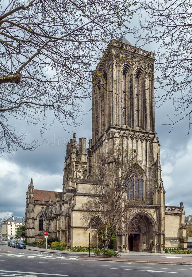 Free St John`s Church, Caen, France Stock Photos - 119014233
