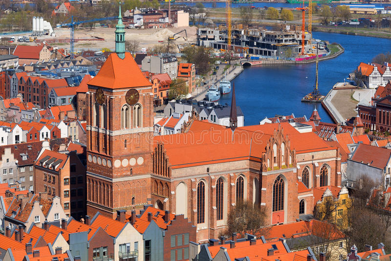 St. John's Church Gdansk royalty free stock photo