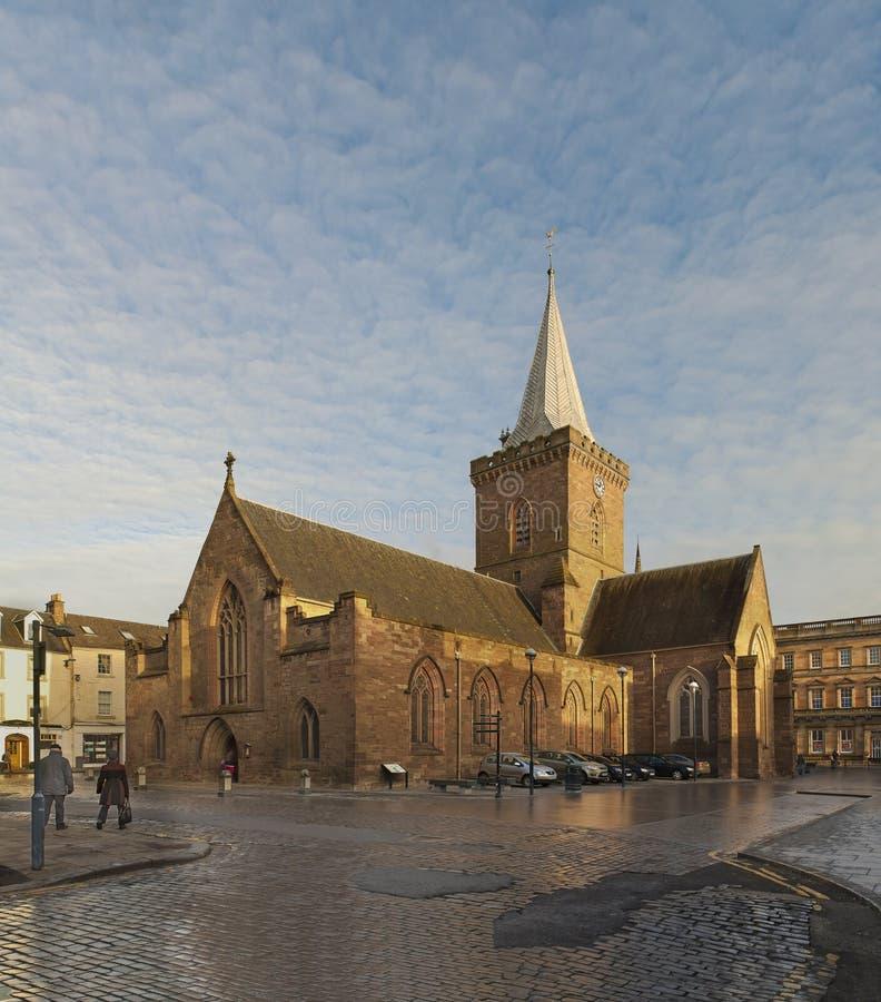 St John's Kirk. In Perth, Scotland royalty free stock photo