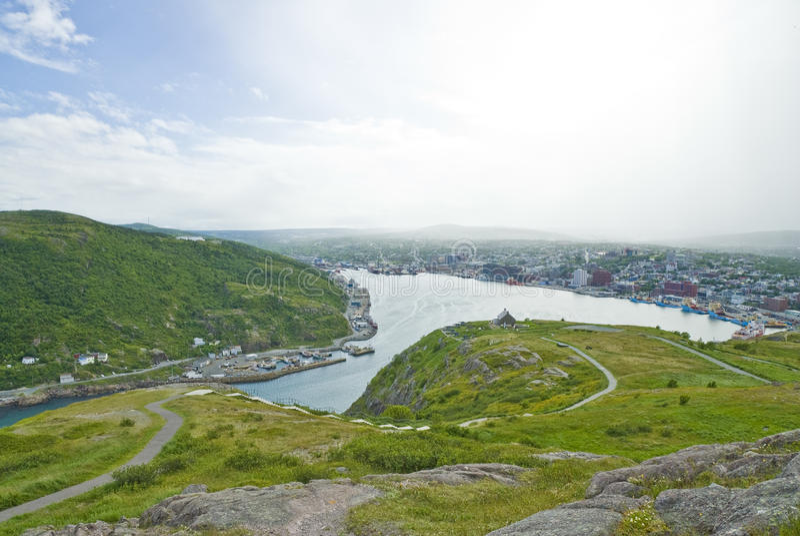 St. John's Newfoundland royalty free stock images