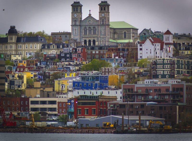 St John ` s, Newfoundland & labrador arkivfoto
