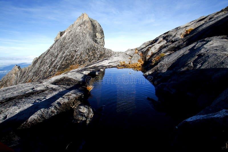 St John's peak (4,091m) , Mount Kinabalu Sabah Borneo royalty free stock photo