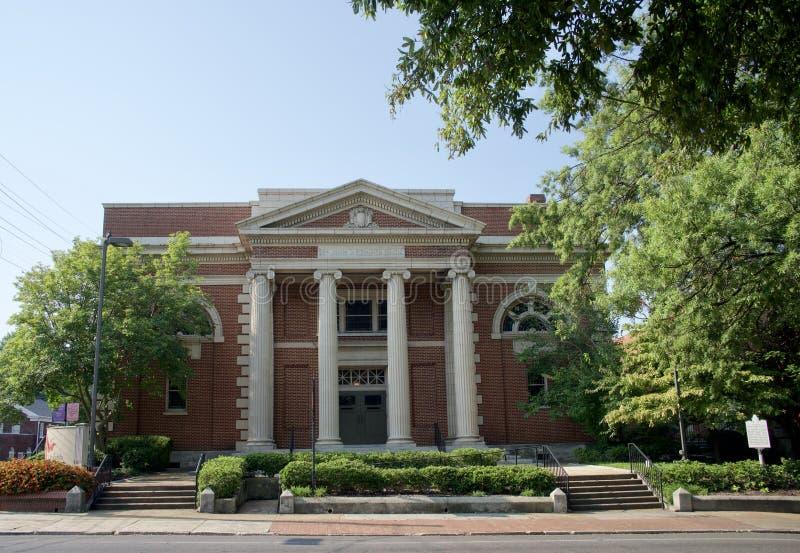 St John ` s verenigde Methodist Kerk, Memphis, TN stock afbeeldingen