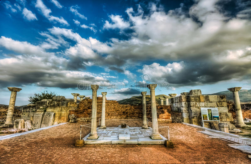 St John Tomb, Turquia foto de stock royalty free