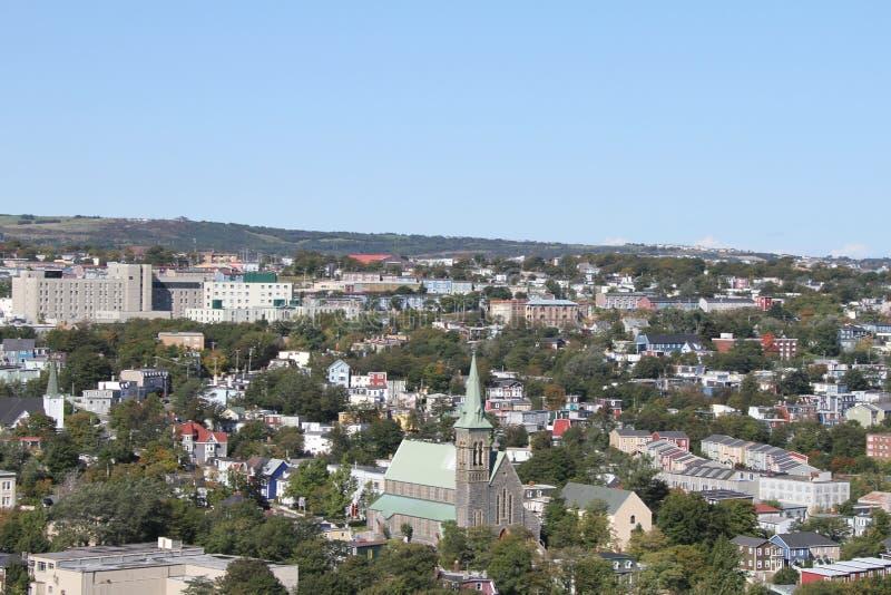 ST Johns, νέα γη, Καναδάς στοκ εικόνες με δικαίωμα ελεύθερης χρήσης