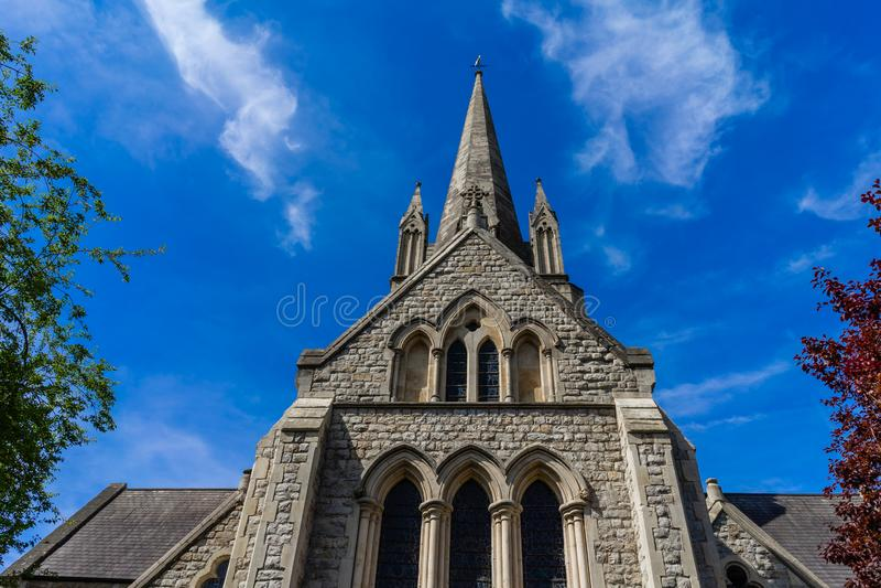 St Johns Church in London, England, UK.  stock photo