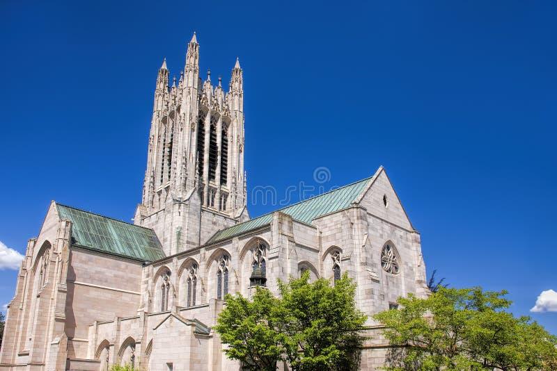 St Johns gotische architectuur royalty-vrije stock fotografie
