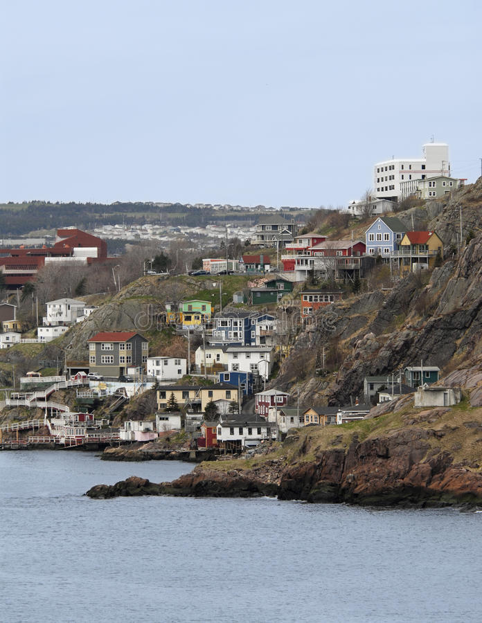 Download St.Johns Harbour Side, Newfoundland, Canada Stock Image - Image: 17462325