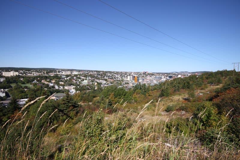 St Johns Newfoundland, Kanada royaltyfri fotografi