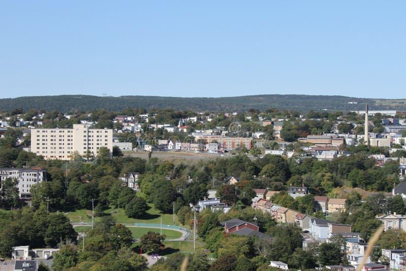 St Johns Newfoundland, Kanada arkivbild