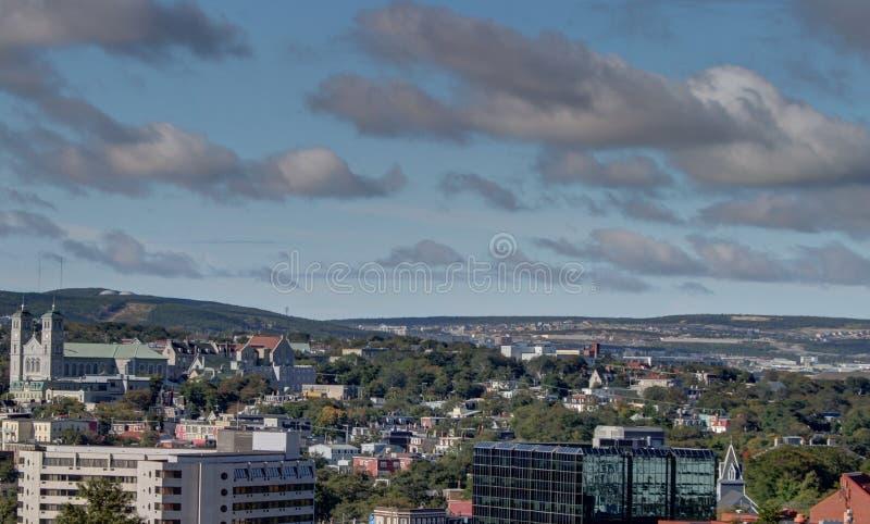St Johns Newfoundland, Kanada royaltyfria bilder