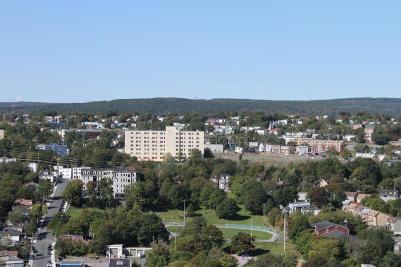St Johns Newfoundland, Kanada fotografering för bildbyråer