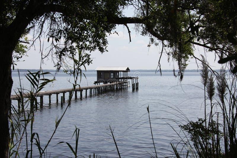 St. Johns River в Флориде стоковые фото