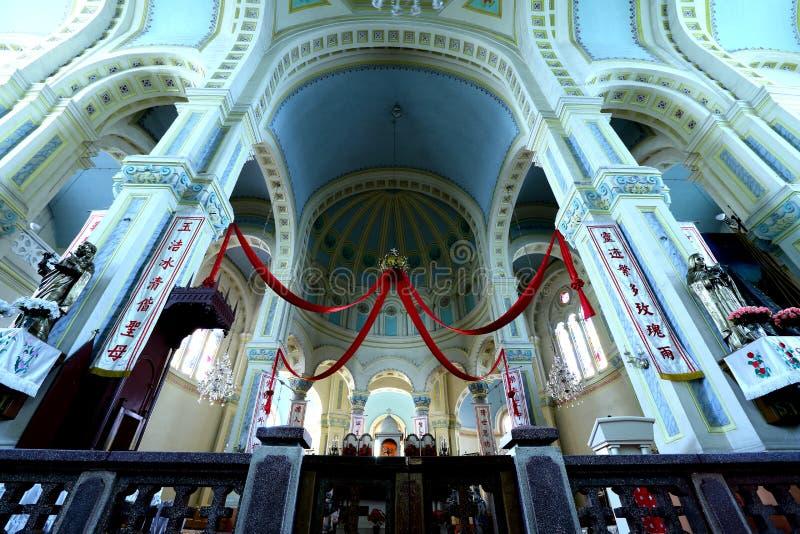 St Joseph Cathedral (Tianjin) foto de stock royalty free
