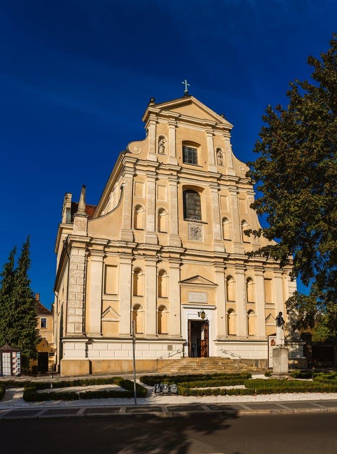 St Joseph Church - Discalced Carmelites i Poznan royaltyfri foto