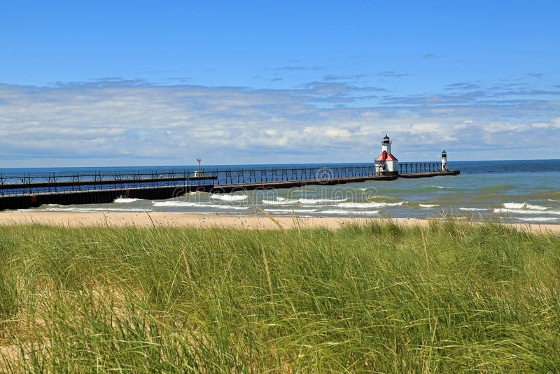 St. Joseph Lighthouse lizenzfreies stockbild