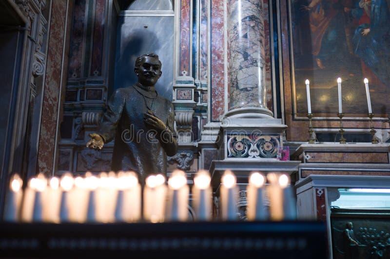 St Joseph moscati royalty-vrije stock foto's