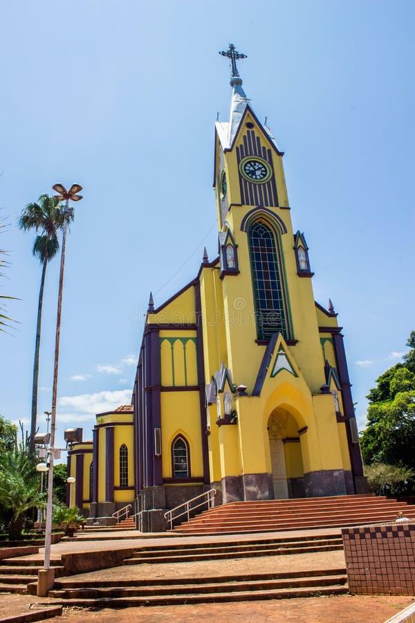 St. Joseph Mother Church stockbilder