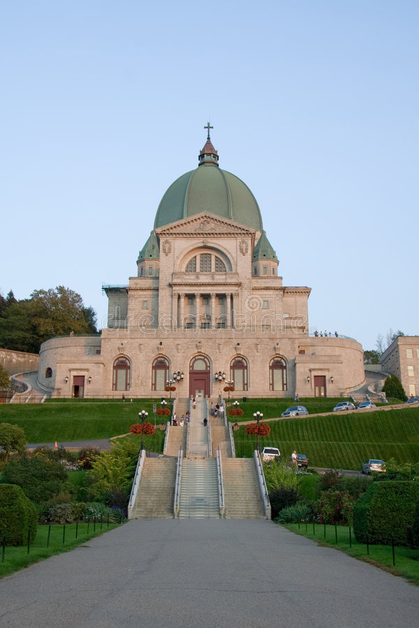 Download St-Joseph Oratory stock photo. Image of attraction, touristic - 1244978