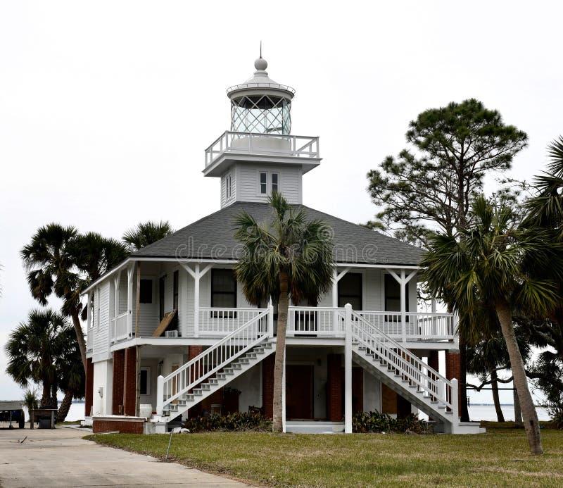 St Joseph Point Lighthouse imagenes de archivo
