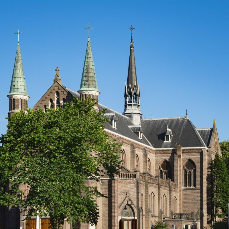 St Josephkerk, Alkmaar, Pays-Bas d'église image libre de droits
