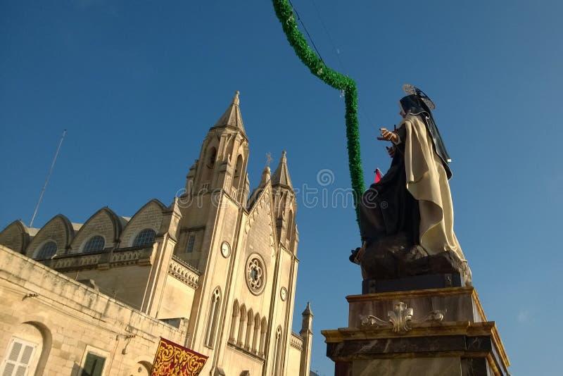 St Julians - Malta royaltyfri fotografi