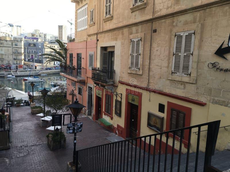 St Julians Malta zdjęcie royalty free
