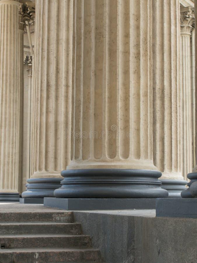 st kazan petersburg колоннады собора стоковые фото