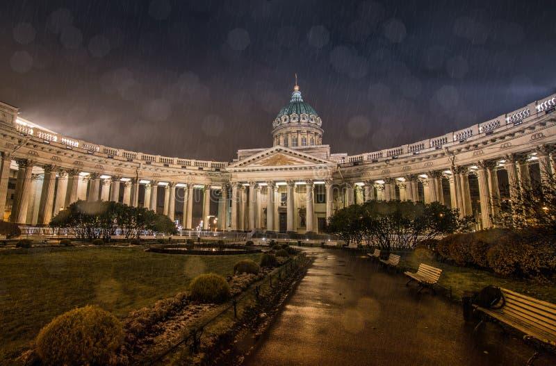 st kazan petersburg России собора стоковые изображения rf
