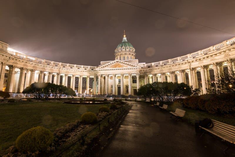 st kazan petersburg России собора стоковое фото