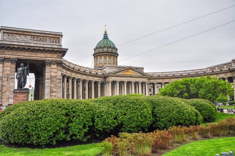 st kazan petersburg России собора стоковая фотография