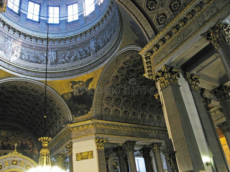 st kazan petersburg собора стоковые фото