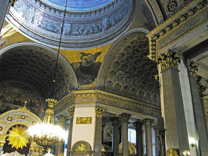 st kazan petersburg собора стоковое изображение