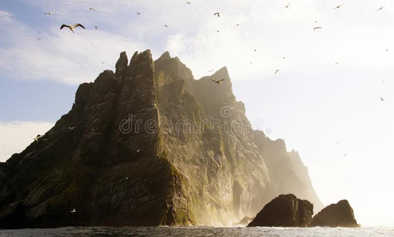 St Kilda archipel, Buitenhebrides, Schotland royalty-vrije stock foto's