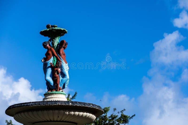 St Kitt Status fotografía de archivo