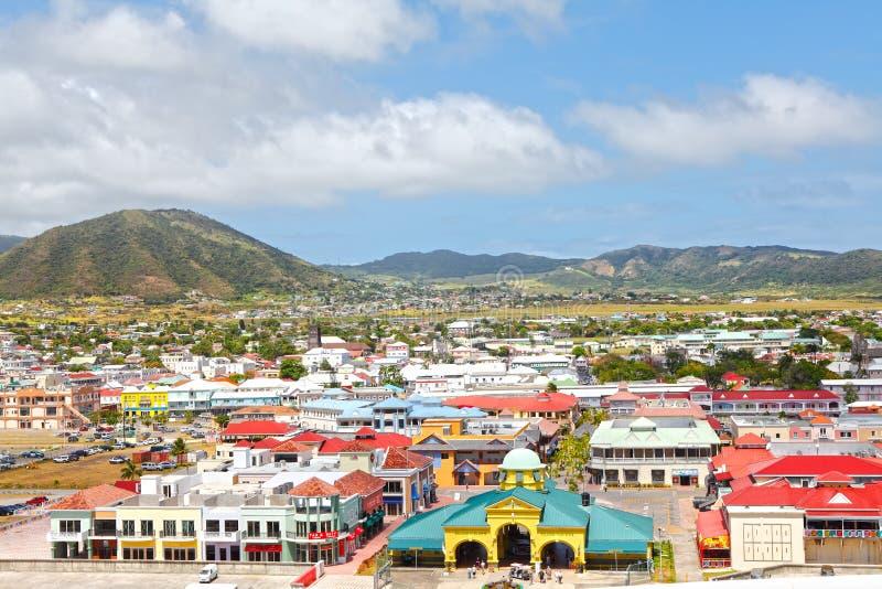 st kitts карибского острова стоковое изображение rf
