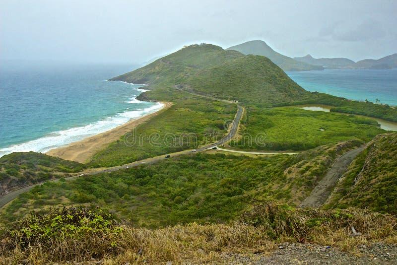 St Kitts et Niévès, des Caraïbes photo libre de droits
