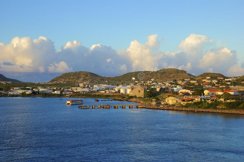 St Kitts som är karibisk royaltyfria bilder