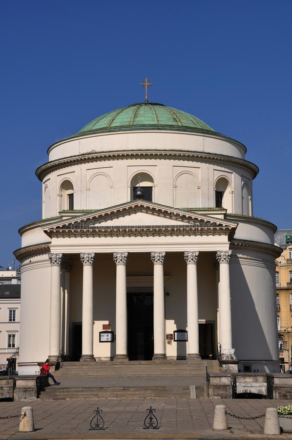 St. Kościół Aleksander zdjęcie royalty free