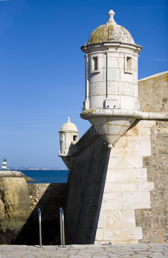 st lagos Португалии gonsalo крепости algarve стоковое фото