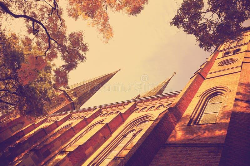 St Lamberti教会在奥登堡,德国 图库摄影