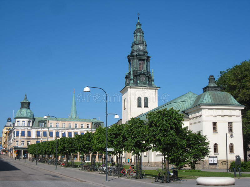 St Lars church. Linkoping . Sweden royalty free stock photography