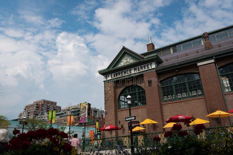 St Lawrance jawny rynek w Toronto, Ontario, Kanada obrazy royalty free