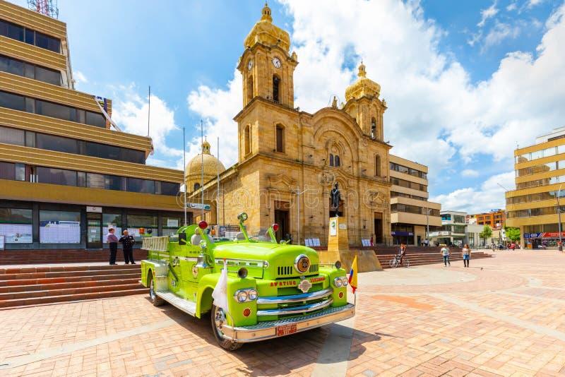 St Lawrance katedralny Duitama Kolumbia zdjęcia royalty free