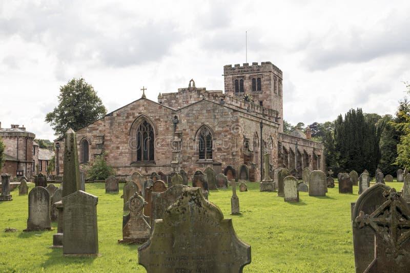 St Lawrence Church, Appleby, Westmorland, Cumbria, Reino Unido fotos de archivo