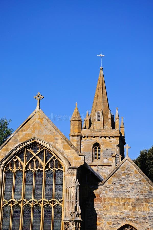 St. Lawrence Church, Evesham lizenzfreie stockbilder