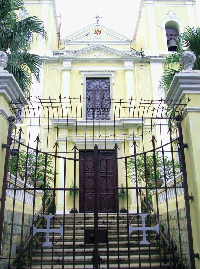St Lawrence Church Igreja de S Lourenco dans Macao Chine images libres de droits