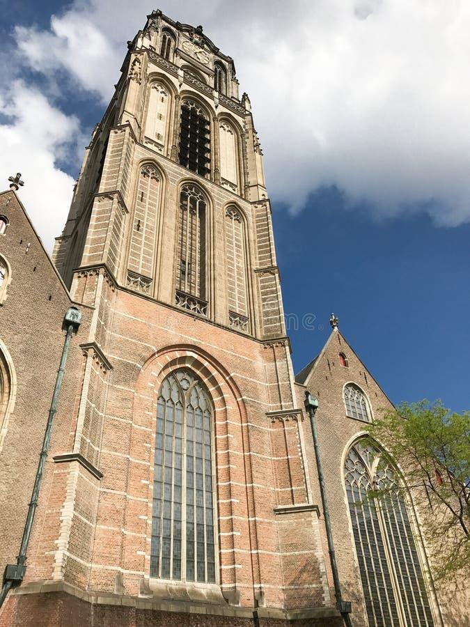 St Lawrence Church Rotterdam stock foto's