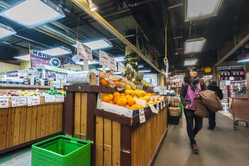 St Lawrence marknad - i stadens centrum Toronto Kanada royaltyfri foto